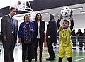 Jefa de Estado inaugura Complejo Polideportivo en la comuna de Laja (28479913385).jpg