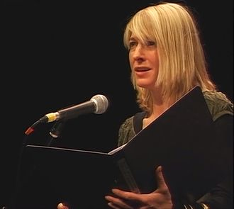 Jemma Redgrave - Jemma Redgrave reading Poems from Guantánamo at the Center for Constitutional Rights in 2007