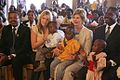 Jenna and Laura Bush Kagarama Church.jpg