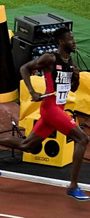 Jereem Richards Trinidad and Tobago sprinter