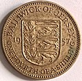Jersey, one fourth of a shilling 1957.jpg