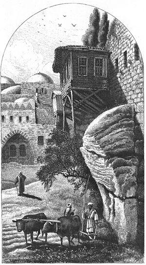 Robinson's Arch - Robinson's Arch in 1860