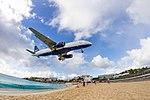 Jet Blue landing at St Martin Airport (8448706602).jpg