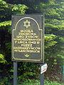 Jewish mass murder place by Nowy Żmigród, Poland.JPG