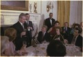 Jimmy Carter and Rosalynn Carter host state dinner for the President of Romania, Nicolae Ceausescu. - NARA - 178864.tif