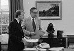 Jimmy Carter with Robert Lipshutz - NARA - 173473 (cropped).jpg