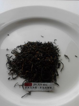 Jin Jun Mei tea - Image: Jin Jun Mei tea