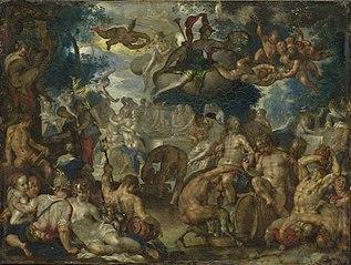 The Wedding of Peleus and Thetis