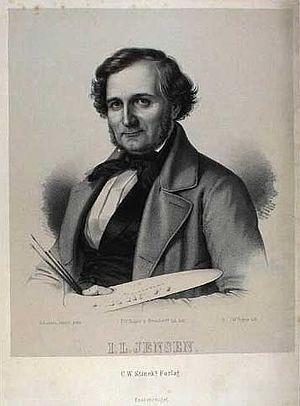Johan Laurentz Jensen - Johan Laurentz Jensen (1850s)