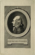 Johann Jacob Ferber. Line engraving by C. C. Glassbach after Wellcome V0001888.jpg