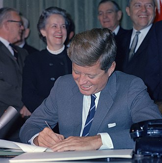 Community Mental Health Act - President John F. Kennedy signing the act