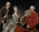 John Jennings Esq., his Brother and Sister-in-Law (Alexander Roslin) - Nationalmuseum - 18570.tif