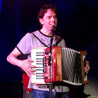 John Linnell - Linnell of They Might Be Giants performing in Portland, Oregon in 2011