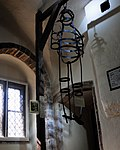 John Nichols - gibbet (Moyse's Hall, Bury St Edmunds), Moyse's Hall Museum, Bury St. Edmunds.jpg