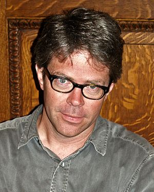 Jonathan Franzen - Franzen at the 2008 Brooklyn Book Festival