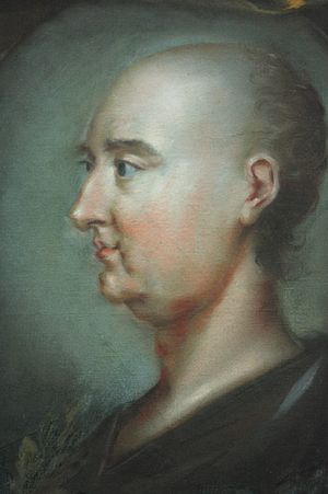 Jonathan Swift - Jonathan Swift (shown without wig) by Rupert Barber, 1745, National Portrait Gallery, London