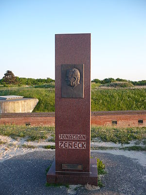 Jonathan Zenneck - Memorial in Cuxhaven