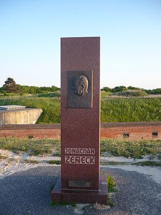 Jonathan Zenneck - Memorial in Cuxhaven