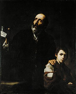 Jose de Ribera (1591-1652), Blind Beggar and his Boy, ca.1632, Allen Memorial Museum, Oberlin College, Ohio, US