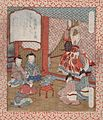 "Ju, ""Longevity""; The Immortal Wo Quan's Present of Pine Branches to the Emperor Yao LACMA M.80.219.51.jpg"
