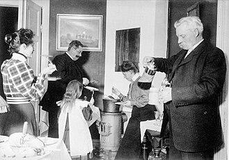 Sop - Sop at Christmas, Sweden, 1910