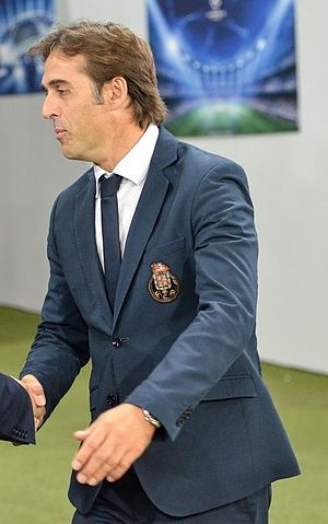 Julen Lopetegui - Lopetegui as manager of Porto in September 2014
