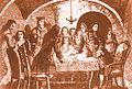 Junta de guerra de l'1 de Setembre de 1714,amb la participació d'Antoni Villarroel, Casanova i Basset'.jpg