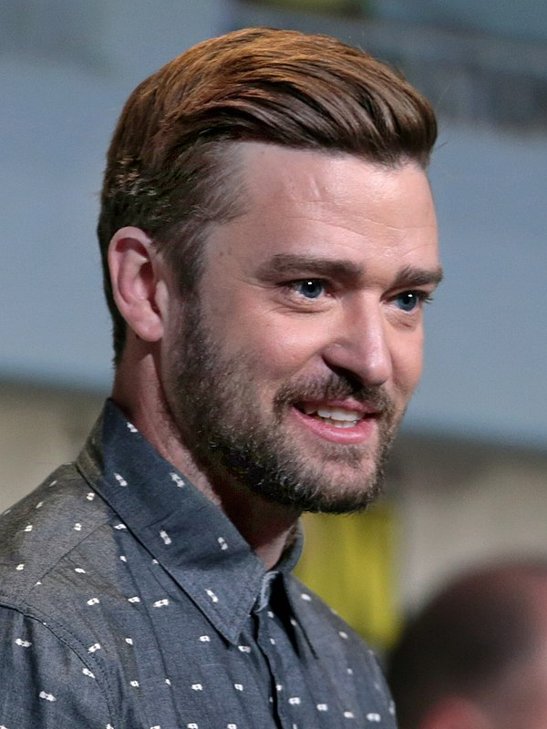 Photo Justin Timberlake via Wikidata