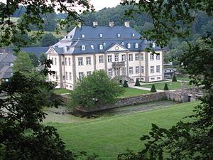 Rüthen - Schloss Körtlinghausen near Rüthen
