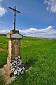 Kříž u cesty do Seloutek, Určice, okres Prostějov.jpg