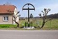 Kříž v jižní části obce, Střeň, okres Olomouc.jpg