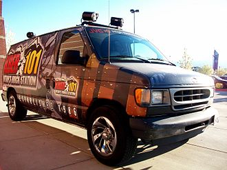 KBER - The KBER Van, used for promotions and events.