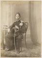 KITLV 10009 - Kassian Céphas - Javanese man in uniform, belonging to the family of Hamengkoe Buwono VII sultan of Yogyakarta - Around 1885.tif
