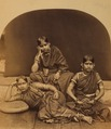 KITLV 106530 - Penn, Albert Thomas Watson - Indian women, presumably dancers - Around 1880.tif