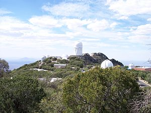 Kitt Peak - Telescopes on the top