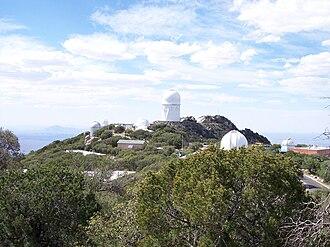 Kitt Peak - Telescopes on the top