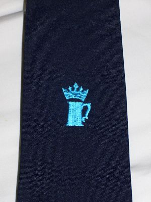King Street, Cambridge - Tie awarded to successful competitors of the King Street Run.