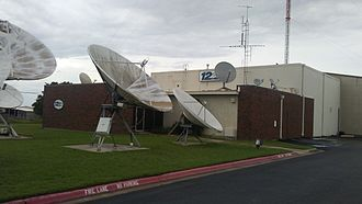 Sherman, Texas - KXII television studio in Sherman
