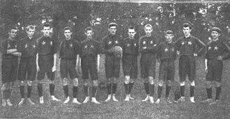 Wisła Kraków - 1907 Wisła Kraków side.