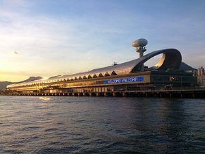 Kai Tak Cruise Terminal - Image: Kai Tak Cruise Terminal in June 2014