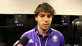 Kaká Postgame In Houston, March 2015.jpg