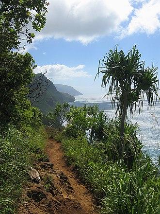 Nā Pali Coast State Park - Along the Kalalau Trail