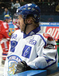 Tomi Kallio Finnish ice hockey player