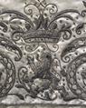 Kappkrage som tillhört Gustav II Adolf (mönsterdetalj) - Livrustkammaren - 65137.tif