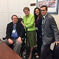 Kaptur met with Ernie Brancheau from Toledo and the National Coalition for Assistive and Rehab Technology. (33589324044).jpg