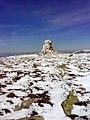 Karkonoski Park Narodowy - Wielki Szyszak, ruiny pomnika Wilhelma I.jpg