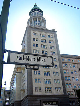 Image illustrative de l'article Karl-Marx Allee