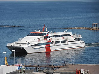 Golden Star Ferries - Image: Karolin arriving in Tallinn 6 May 2013