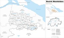 Loko de Weinfelden Distrikto