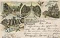 Kassel, Hessen - Schlosspark Wilhelmshöhe (Kaskaden, Hotel Ridinger, Schloss) (Zeno Ansichtskarten).jpg